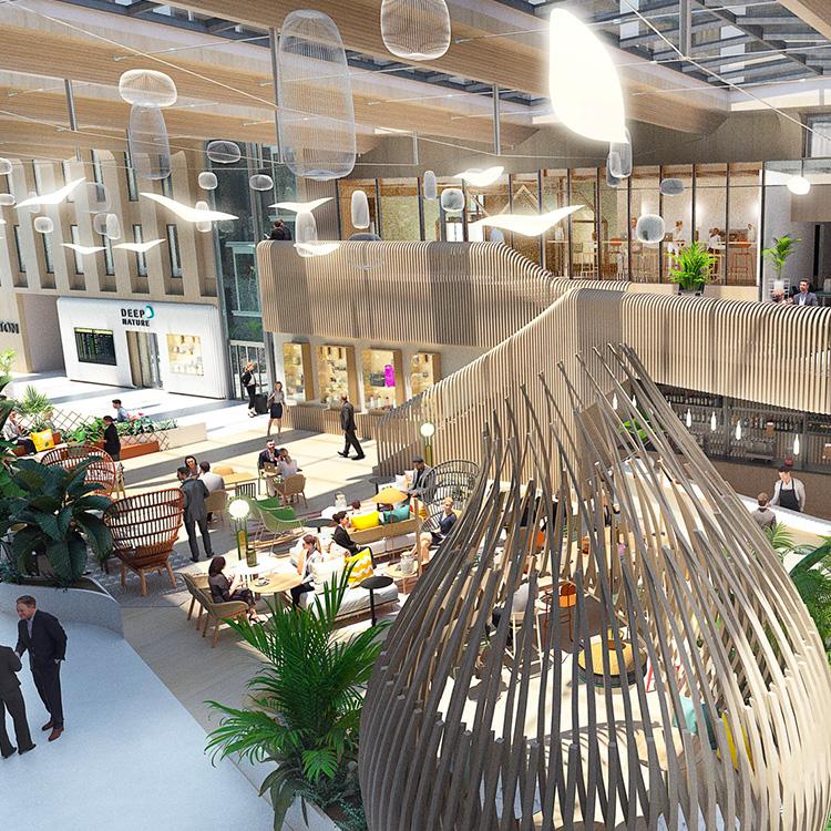 L'Oasis  Flexibilité – Innovation - Collaboration   L'Oasis, digital business center est un lieu de travail, d'échange, de rencontres, de collaboration et de réunions professionnelles de 3 à 300 personnes.